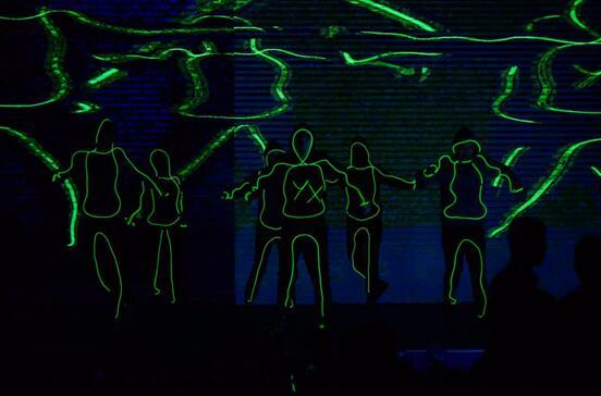酷炫舞蹈背景素材壁纸