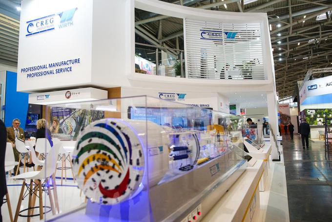2019德国宝马展 中铁装备盾构机再次备受瞩目