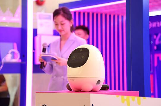 科大讯飞首家A.I.互动体验中心亮相合肥万象城