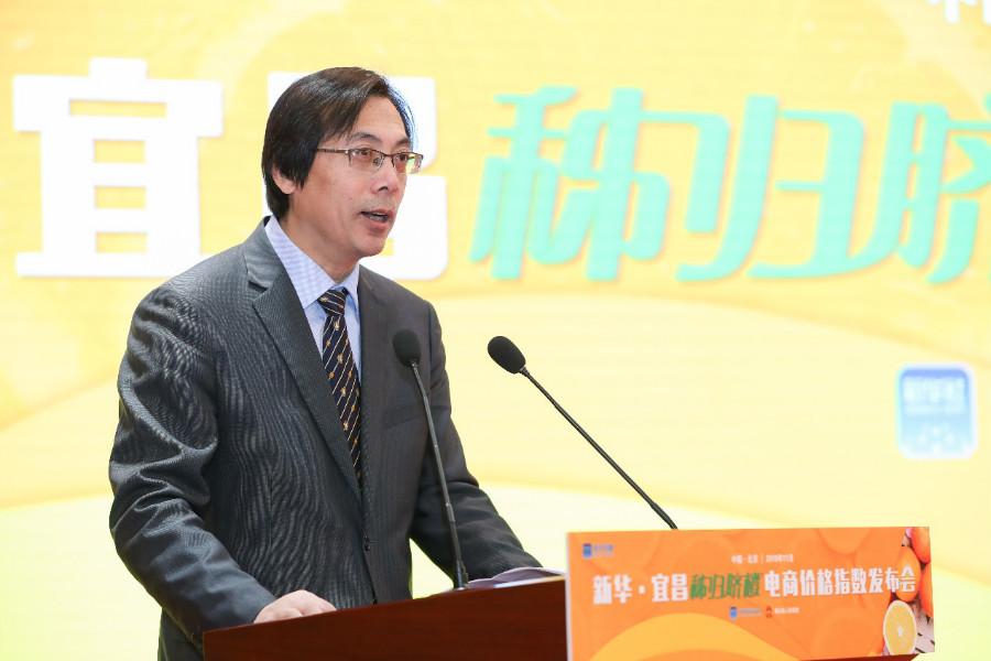 中国经济信息社党委常委、副总裁曹文忠 王吉如 摄