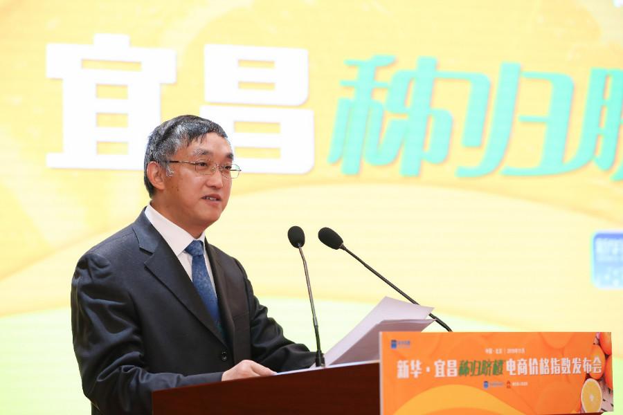 农业农村部信息中心主任王小兵 王吉如 摄