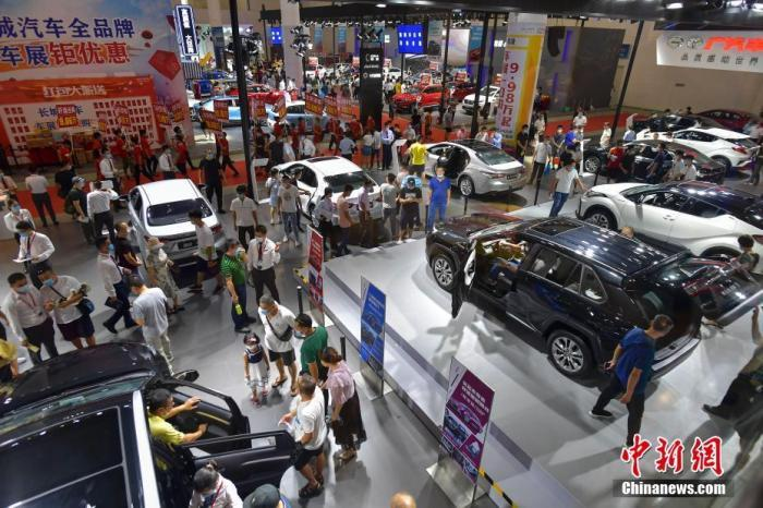 汽车交易市场逐渐再生销
